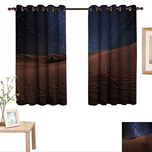 - Space Decorative Curtains for Living Room Life on Mars Themed Surreal Surface of Gobi Desert Dune Oasis Lunar Adventure Photo 55