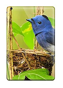 Excellent Ipad Mini Cases Tpu Covers Back Skin Protector Blue Bird