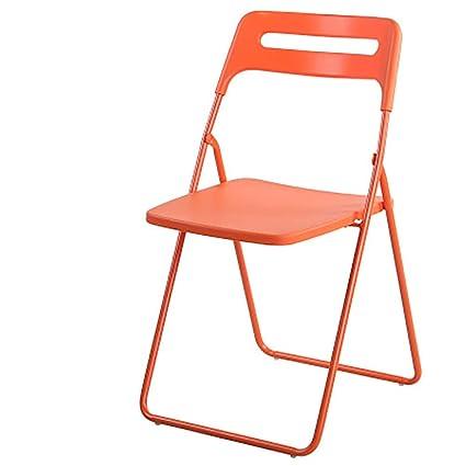 LSHUAIDJ Chaise Pliante en Plastique/Chaise d\'ordinateur de ...