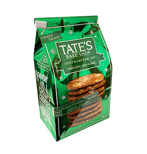Tate's Bake Shop Holiday Limited Edition Cookie 7oz, 1 Pack (Hot Chocolate)