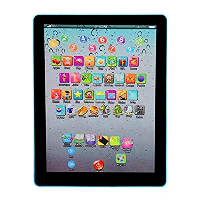 fukjem Kids Pad Toy Pad Computer Tablet Education Learning Education Machine Touch Screen Tab Electronic Systems: Toys & Games