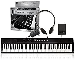 Amazon Com Williams Legato Digital Piano With Ess1 Essentials Pack Musical Instruments