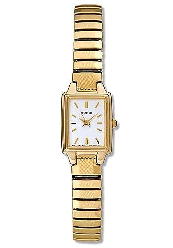 53ed8fbd4 Amazon.com: Seiko Women's SXGN08 Gold Tone Watch: Watches