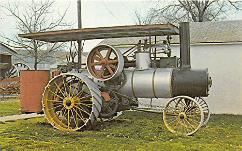 Minden, Nebraska, NE, USA Postcard Pioneer Village, Russell Steam Traction Engine Unused