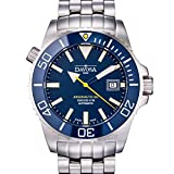 Davosa Automatic Swiss Made Men Watch, Professional Argonautic BG 16152240, Stainless Steel Wrist Band, Exceptional Luminous Analog Face