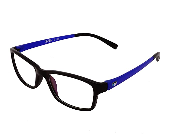 f01709ab8bc Image Unavailable. Image not available for. Colour  Faas Selfie Full Rim  Rectangular Unisex Sun Glasses ...