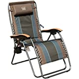 Timber Ridge Zero Gravity Patio Lounger Chair Oversize XL Padded Adjustable Recliner with Headrest Support 350lbs