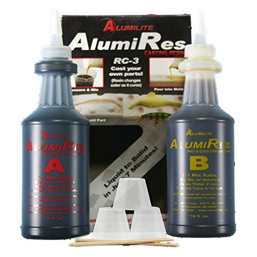 Alumilite AlumiRes (RC-3) Black 32 oz Casting Resin