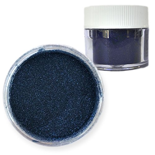 Bakell - 5g Midnight Dark Navy Blue Fine Grain Disco Sparkle Dust Non Toxic Decorating Shiny Pearl Glitter Navy Glitter