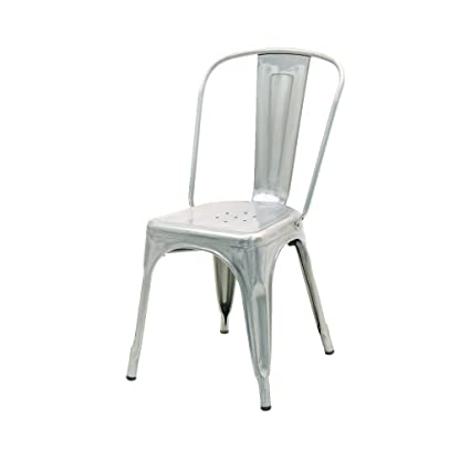 Superbe Atlas French Industrial Chair (steel)