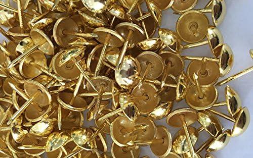 tachuelas para muebles accesorios para hacer regalos decorativos. alfileres de tachuela clavos de tapicer/ía para sof/ás y cabeceros tachuelas Tachuelas de tapicer/ía de 1000 piezas para muebles