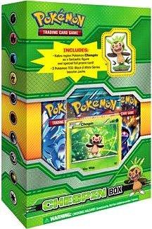 Pokemon Card Game Figure Box Chespin
