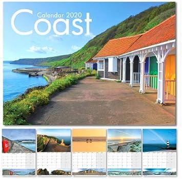 Calendario 2020, calendario de la costa del Reino Unido 2020 ...