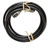 Lowrance Boat Transducer Extension Cable UXT-10 | 10 FT Black