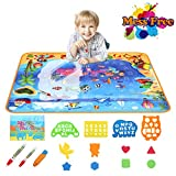Best Gifts For 1 Year Old Girls Waters - Aqua Magic Mat Water Drawing Mat Board Toy Review