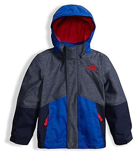The North Face Toddler Boys' Boundary Triclimate Jacket Cosmic Blue Heather 6 by The North Face