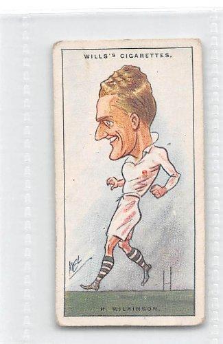 Harry Wilkinson 1929 Wills Cigarettes Rugby Internationals #13 (GOOD)