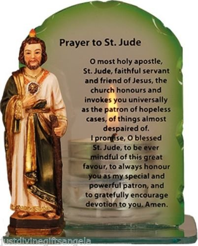Saint jude catholic statue candle with novena amazon saint jude catholic statue candle with novena thecheapjerseys