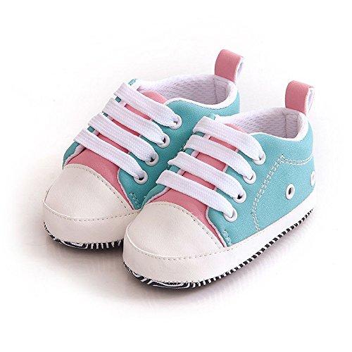 246ab6093 FemmeStopper Baby Shoes Unisex Baby Boy Baby Girl Soft Sole First Walkers  Canvas Sneaker Prewalker Baby