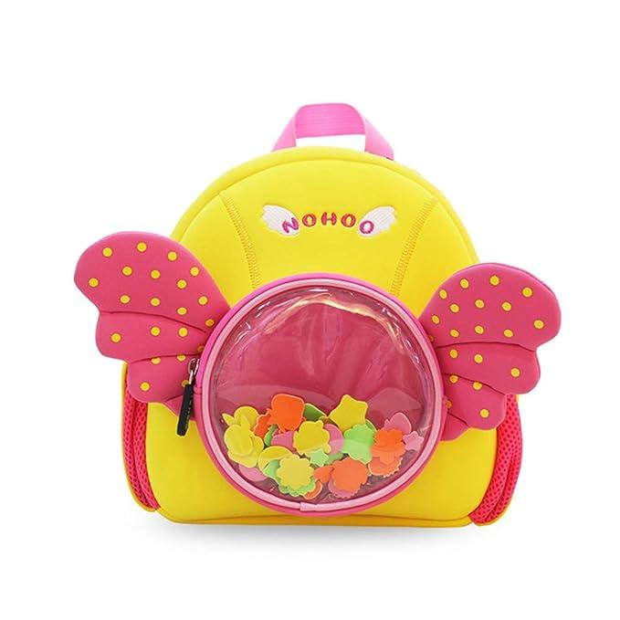 LLHH Mochila para niños Mochila para niños pequeños con arnés de ...