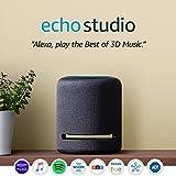 Echo Studio - High-fidelity smart speaker with 3D