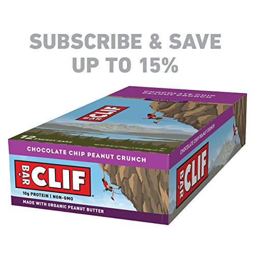 Large Product Image of CLIF BAR - Energy Bar - Chocolate Chip Peanut Crunch - (2.4 Ounce Protein Bar, 12 Count)