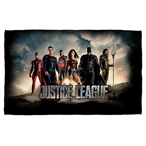 Time For Heroes -- Justice League Movie -- Golf Towel (16'' x 24'') by Justice League Movie
