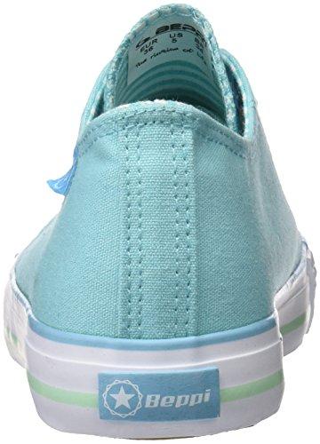 Beppi Canvas, Zapatillas de Deporte Para Mujer Azul (Turq/Blue)