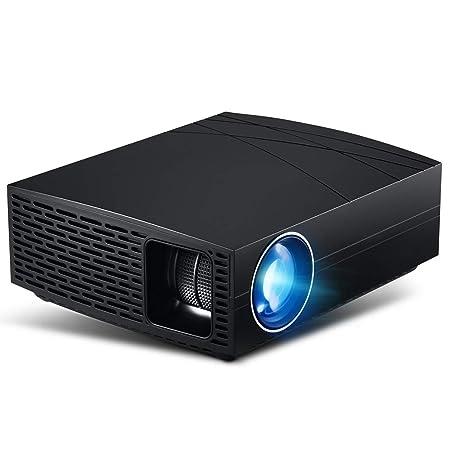 CZWNB Proyector LED Ahorro de energía Sonido estéreo Calidad HD ...