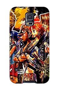 New Fashion Premium Tpu Case Cover For Galaxy S5 - Animated One Pieces