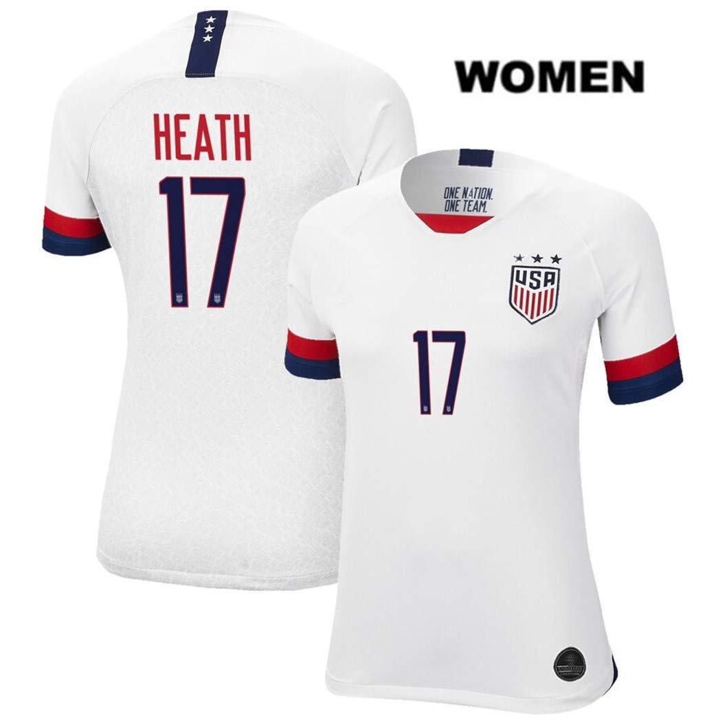 wholesale dealer a5fb2 eb50e Amazon.com : ZZXYSY Tobin Heath #17 2019 Women's World Cup ...