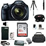 Sony Cyber-shot DSC-H400 Digital Camera with 32GB Deluxe Accessory Bundle