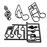Extra Large Music Notes Cutter Set by Patchwork Cutters