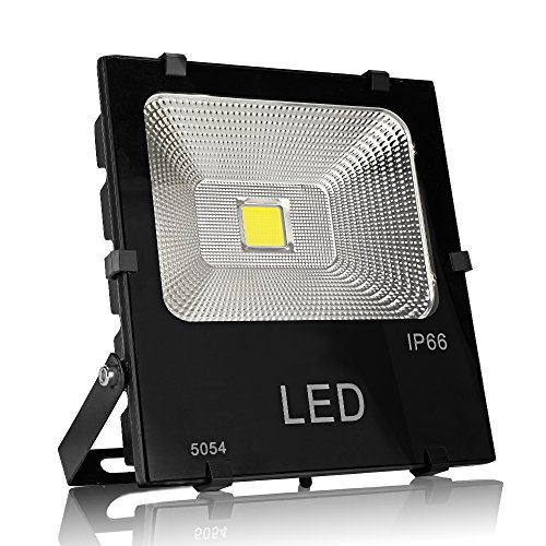50W led Flood Light Outdoor Indoor Work Light with Plug,500W Halogen Bulb Equivalent, IP65 Waterproof, 6000K White Light,Outdoor Led Lighting