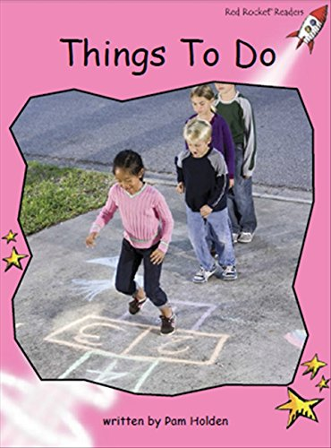 Read Online Things to Do (Red Rocket Readers) pdf epub