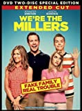 WE'RE THE MILLER 2-Disc EXTENDED CUT Special Edition DVD Set -- Jennifer Aniston & Jason Sudeikis by New Line Home Video