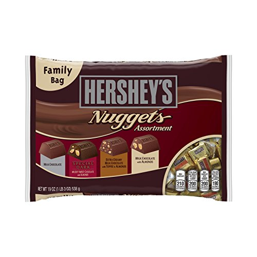Chocolate Nuggets (HERSHEY'S Nuggets Chocolates Assortment (19-Ounce Bags, Pack of 3))