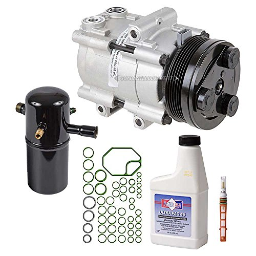 AC Compressor w/A/C Repair Kit For Ford Victoria Mercury Grand Marquis - BuyAutoParts 60-80220RK ()