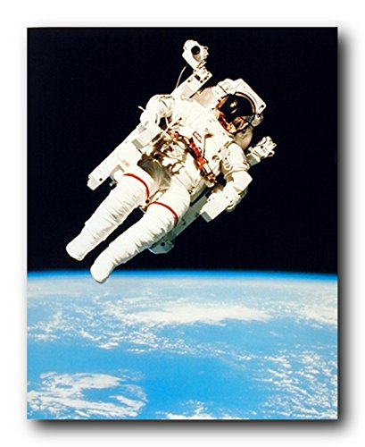 NASA Astronaut in Space Educational and Motivational Wall Decor Art Print Poster