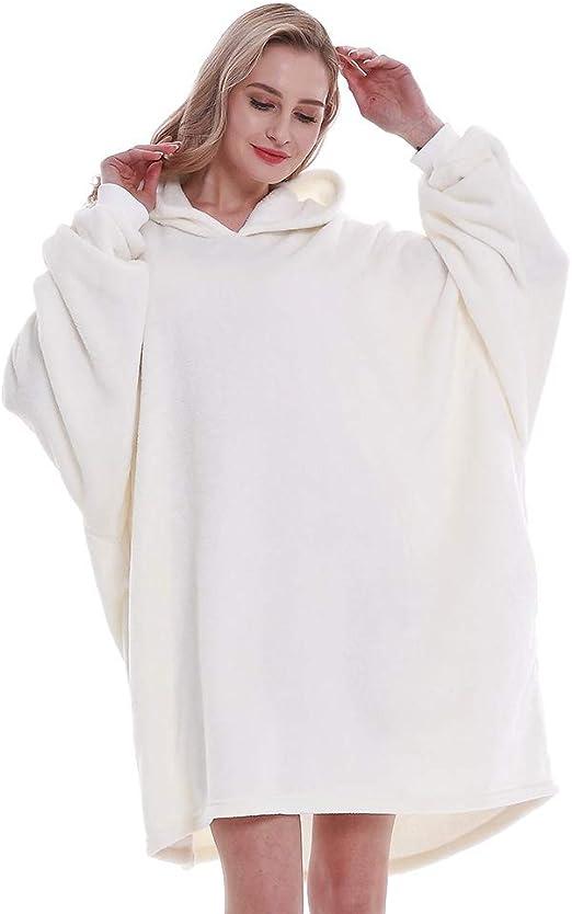 ONEFashion Lightweight Luxury Winter Warm Flannel Fleece Blanket Hooded for Livingroom Bedroom,King Adora Vs Godzilla Wearable Hooded Blanket Hood Poncho Cloak Cape,Queen Size
