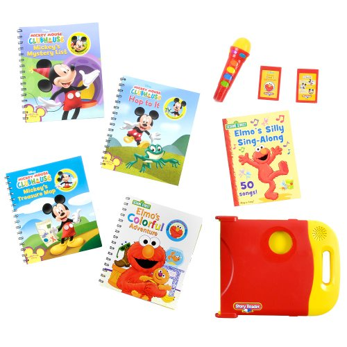 (Story Reader Special Edition Library Set - Sesame Street and Mickey Mouse Clubhouse)
