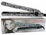 zebra flat iron - RoyalCraft TM Luxury Wild Collection - Professional Ceramic Tourmaline Flat Iron Hair Straightener in Classic Zebra Style