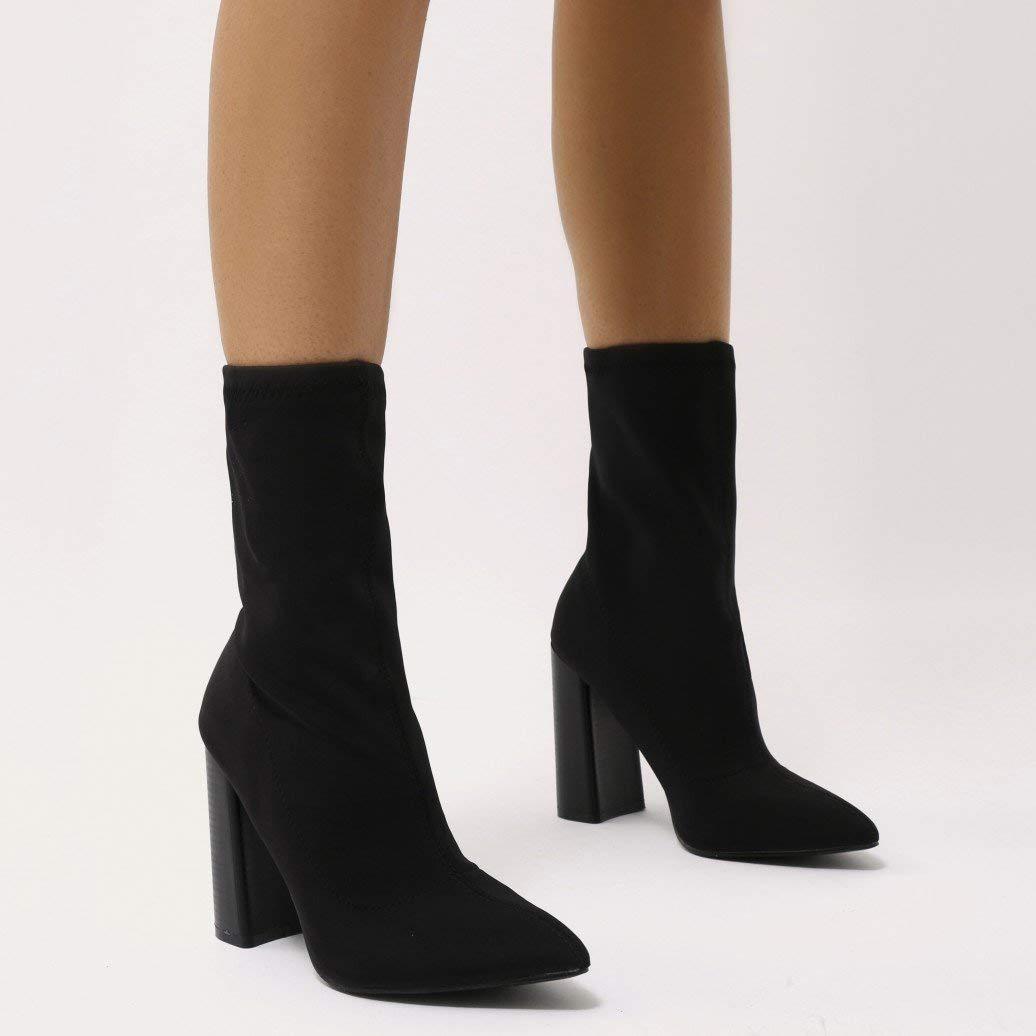 cf95d962c PUBLIC DESIRE Libby Boots Black 6 UK: Amazon.co.uk: Shoes & Bags