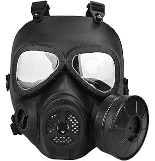 Amazon.com: Máscara Airsoft Paintball de protección completa ...