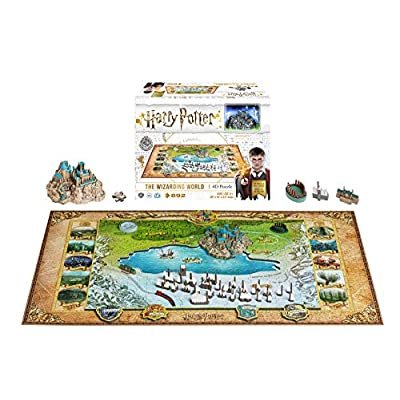 4d Harry Potter Large Puzzle Inglese Giocattolo 15 Feb 2019