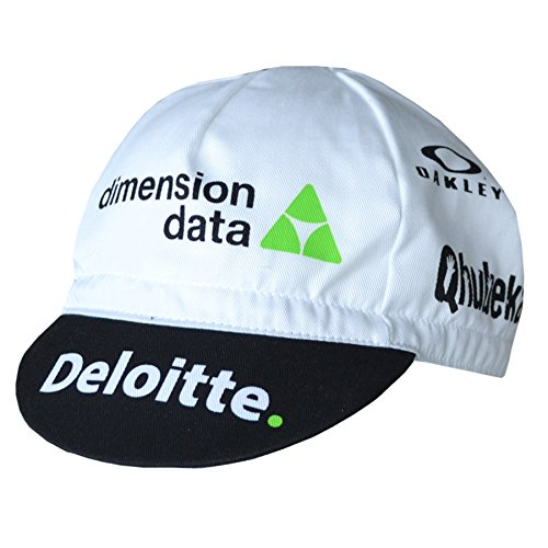 Oakley Team Dimension Data cycling cap One size fits all, cotton cycling cap hat - Bicycle Oakley
