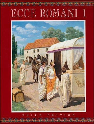 ECCE ROMANI LEVEL 1 STUDENT EDITION HARDCOVER