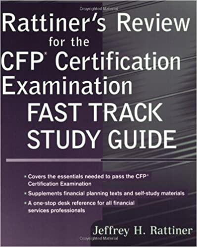 Amazon Com Rattiner S Review For The Cfp R Certification
