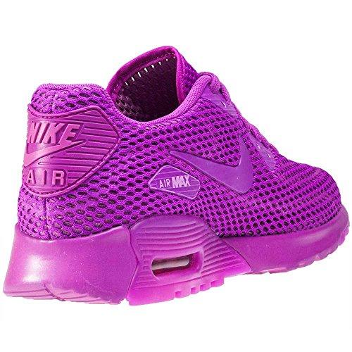 Nike Damen W Air Max 90 Ultra BR Turnschuhe, Schwarz, 36 EU Violett (Hyper Violet/Viola)