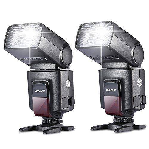 NEEWER カメラ/一眼レンズカメラ用 TT560 フラッシュ・スピードライト Canon Nikon Panasonic Olympus Fujifilm Pentax Sigma Minolta LeicaなどのDSLRカメラに対応 単一接点ホットシュー付きのデジタルカメラに対応の商品画像